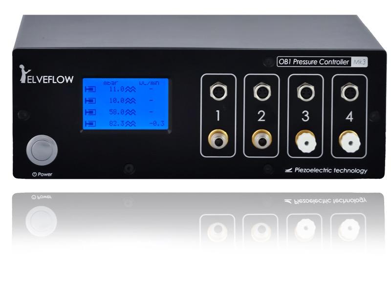 Elveflow OBII MkII Microfluidics Controller